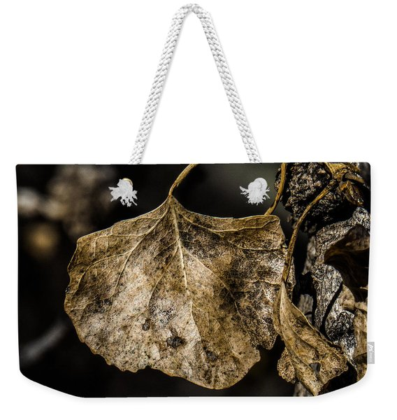 Leaves 4 Weekender Tote Bag