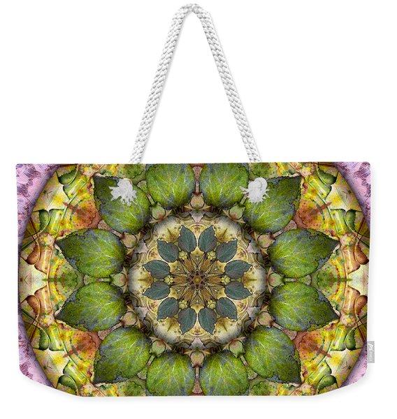 Leaves Of Glass Weekender Tote Bag