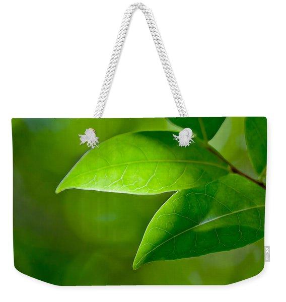 Leaves Of Green Weekender Tote Bag