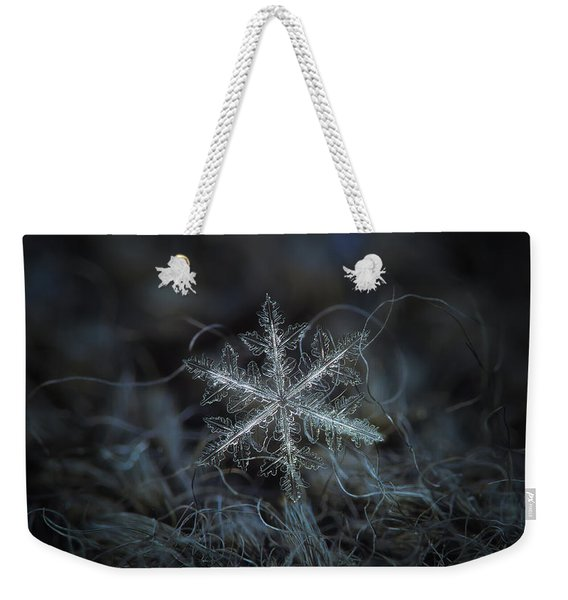 Leaves Of Ice, Panoramic Version Weekender Tote Bag