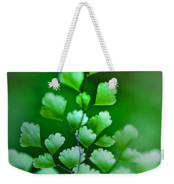Leaves Rising Weekender Tote Bag