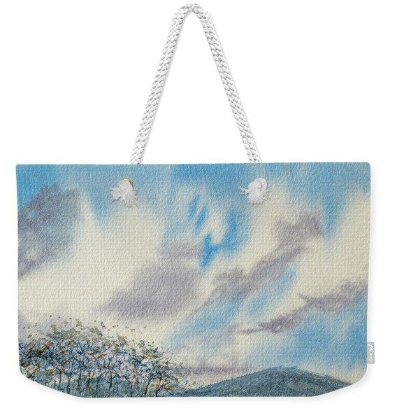 The Blue Hills Of Summer Weekender Tote Bag