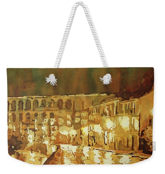 Leaving Segovia Weekender Tote Bag