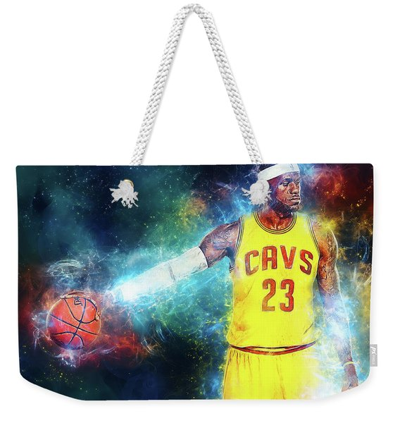Lebron James Weekender Tote Bag