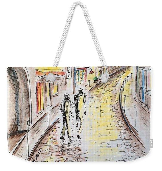Left Bank Weekender Tote Bag