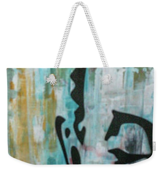 Left Heart  Weekender Tote Bag
