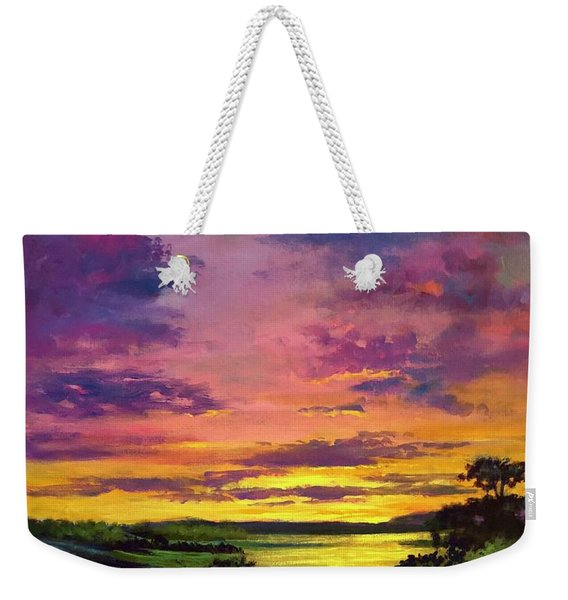 Legend Of A Sunset  Weekender Tote Bag