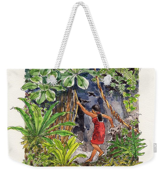 Legend Of The Kopeka Cave Weekender Tote Bag