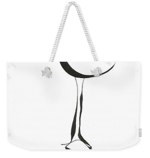 Leggy Weekender Tote Bag