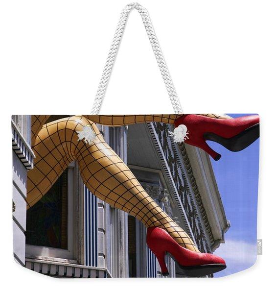 Legs Haight Ashbury Weekender Tote Bag