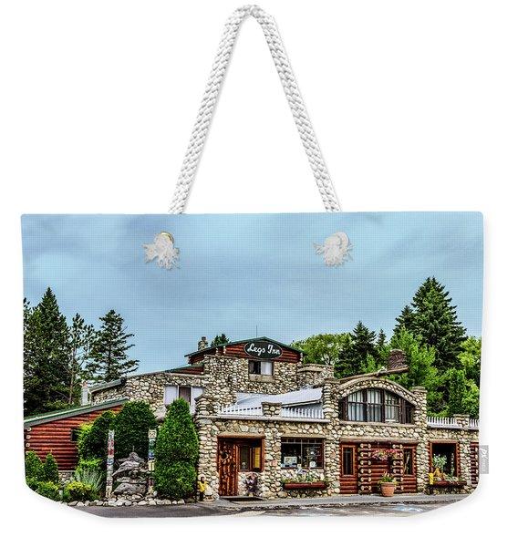 Legs Inn Of Cross Village Weekender Tote Bag