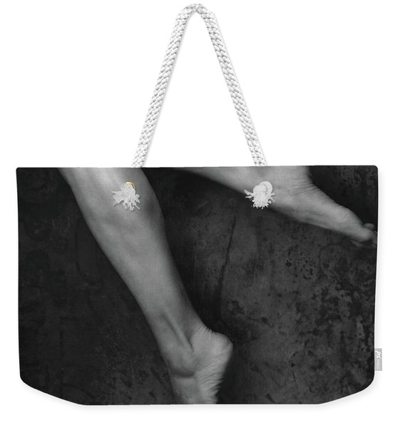 Weekender Tote Bag featuring the photograph Legs Number One by Clayton Bastiani