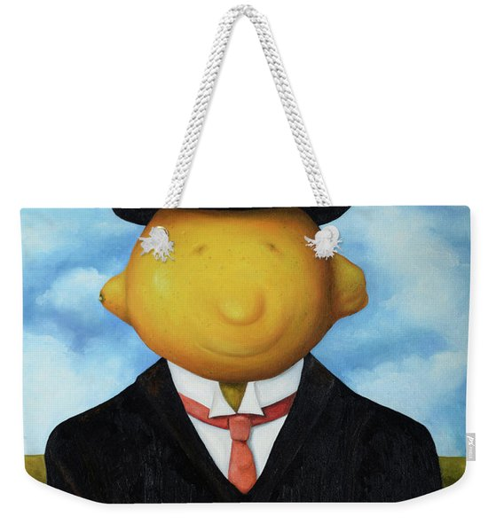 Lemon Head Pro Image Weekender Tote Bag