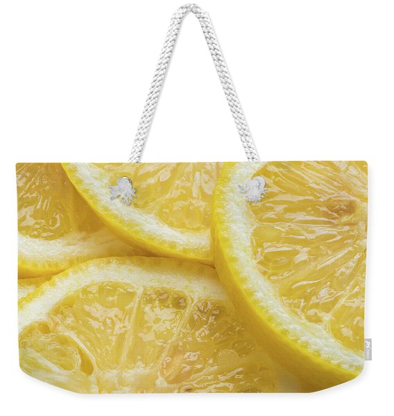 Lemon Slices Number 3 Weekender Tote Bag