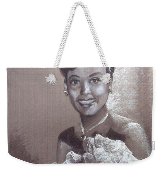 Lena Horne Weekender Tote Bag