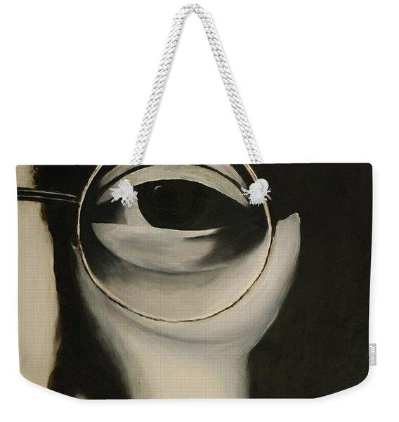 Lennon's Left Eye Weekender Tote Bag