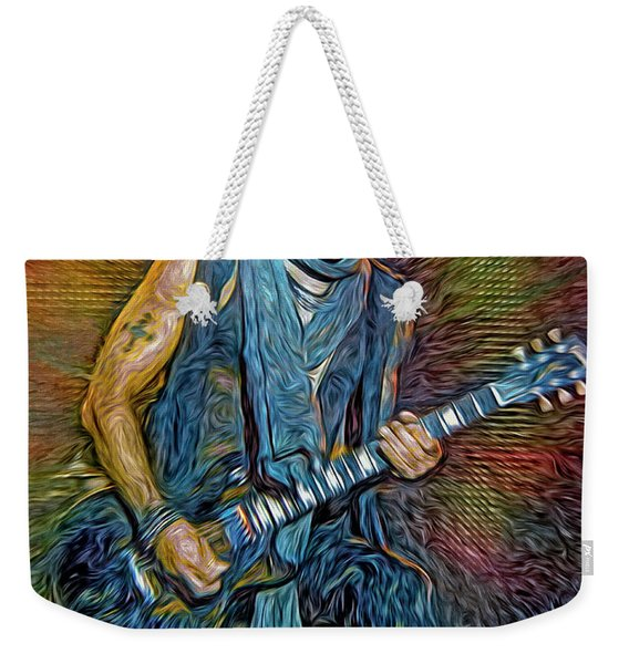 Lenny Kravitz, Musician Weekender Tote Bag