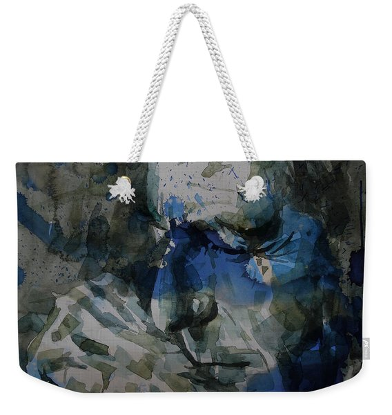Leonard Cohen - It Goes Like This The Fourth The Fifth Weekender Tote Bag