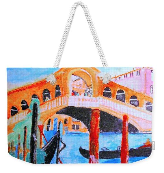 Leonardo Festival Of Venice Weekender Tote Bag