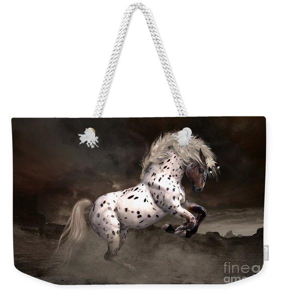 Leopard Appaloosa Shiloh Weekender Tote Bag