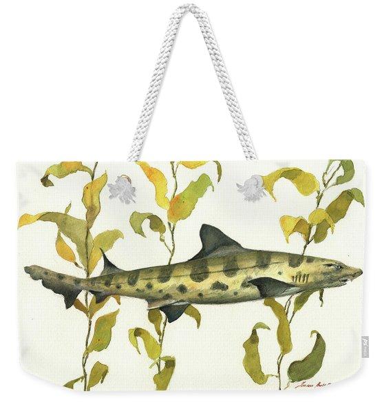 Leopard Shark Weekender Tote Bag