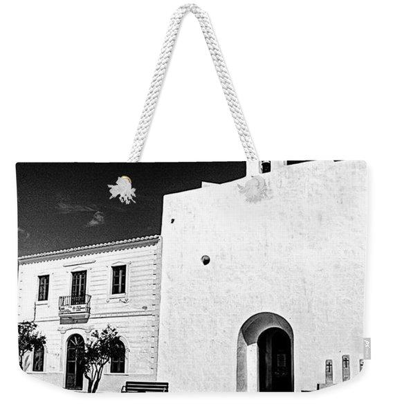 Fortified Church, Formentera Weekender Tote Bag