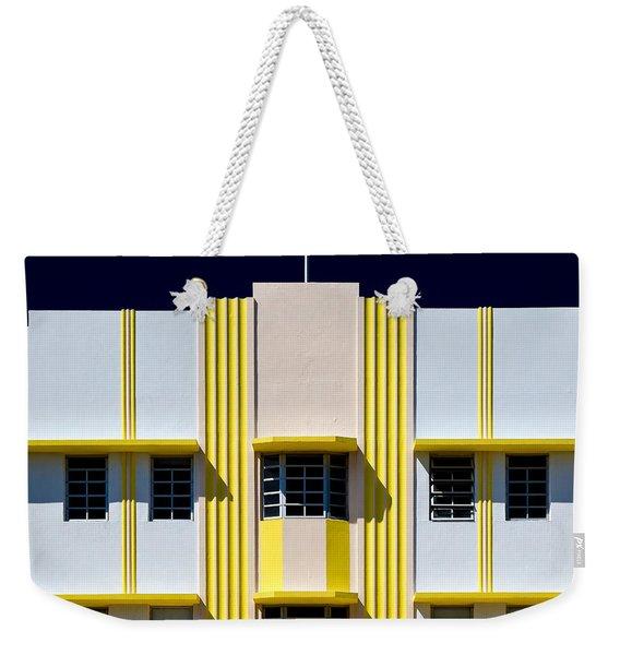 Leslie Hotel Weekender Tote Bag