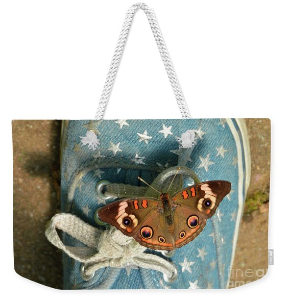 Let Your Spirit Fly Free- Butterfly Nature Art Weekender Tote Bag