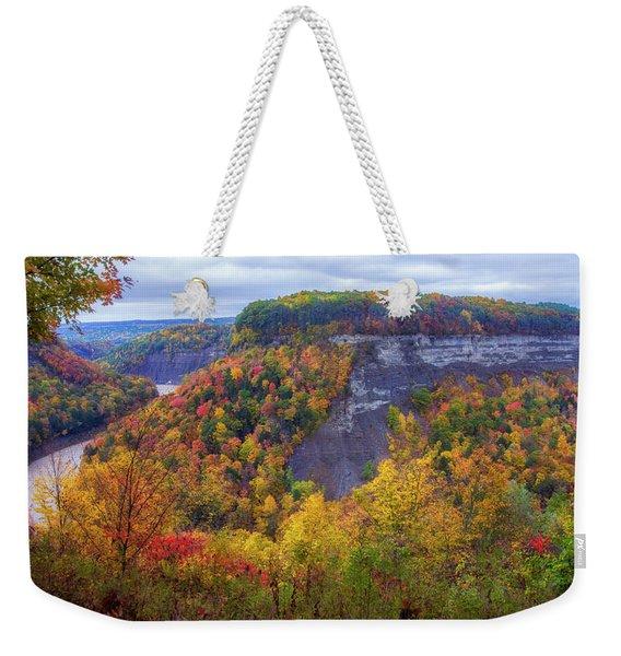 Letchworth Great Bend Weekender Tote Bag