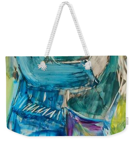 Let's Dance Weekender Tote Bag