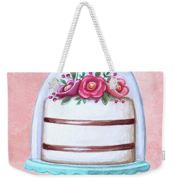 Let's Eat Cake Weekender Tote Bag