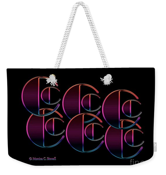 Letter Art L5 - Cs Weekender Tote Bag
