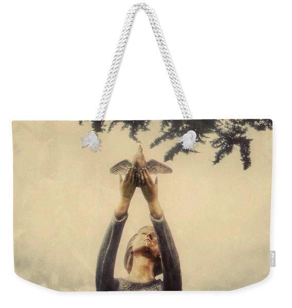 Letting Go Weekender Tote Bag