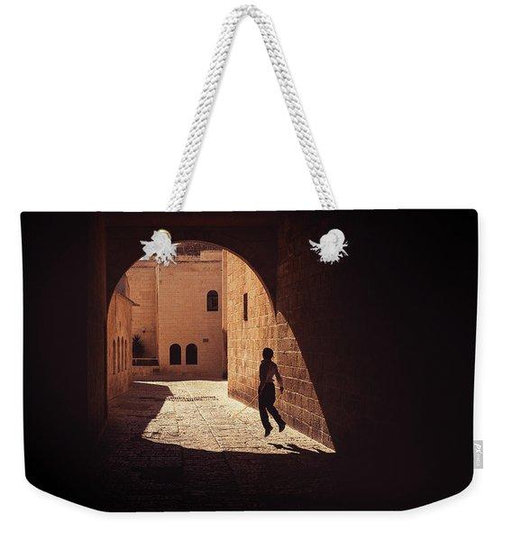 Levitate Weekender Tote Bag