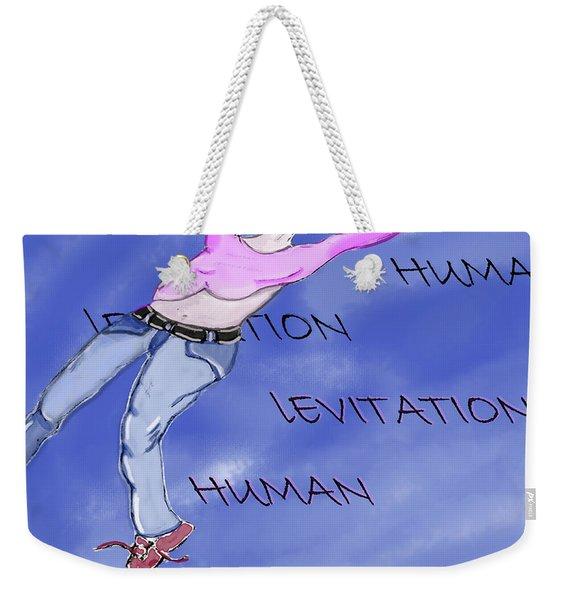 Levitation Weekender Tote Bag