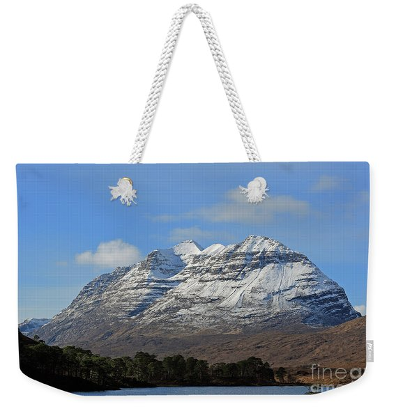 Liatach And Loch Clair Weekender Tote Bag