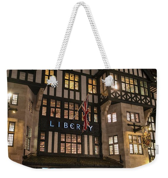Liberty Of London Out Front Night Weekender Tote Bag