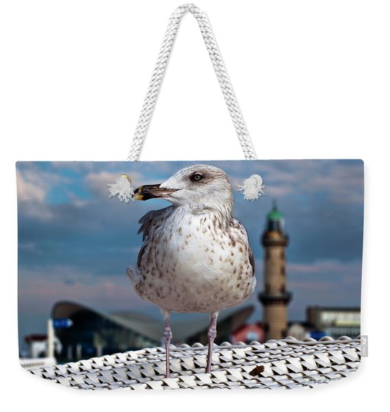Liberty Of An Pacific Gull Weekender Tote Bag