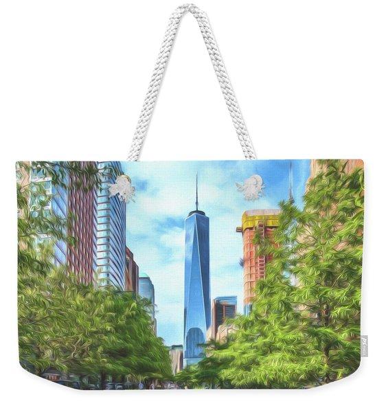 Liberty Tower Weekender Tote Bag
