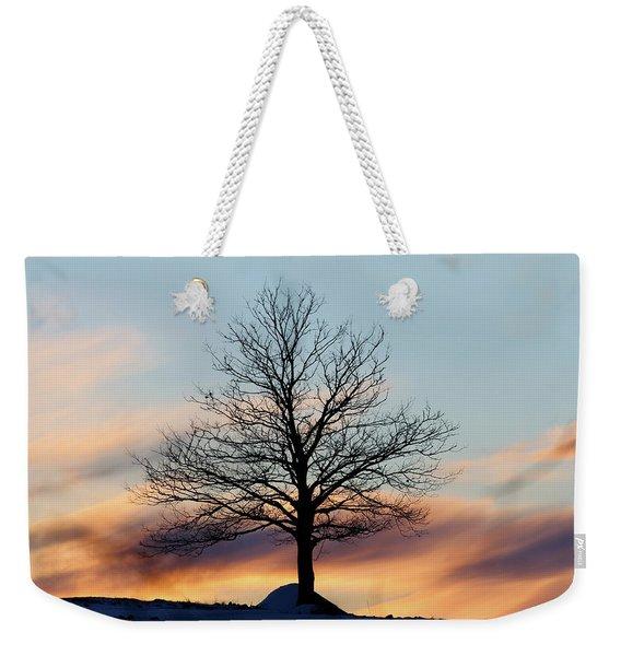 Liberty Tree Sunset Weekender Tote Bag