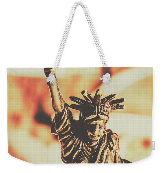 Liberty Will Enlighten The World Weekender Tote Bag
