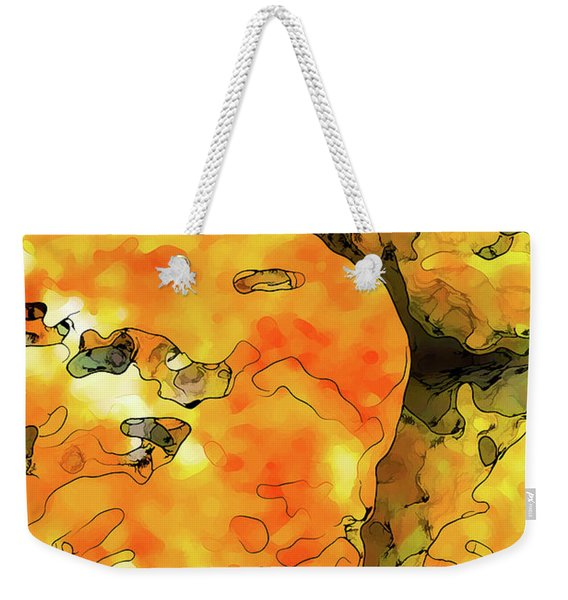 Lichen Abstract Weekender Tote Bag