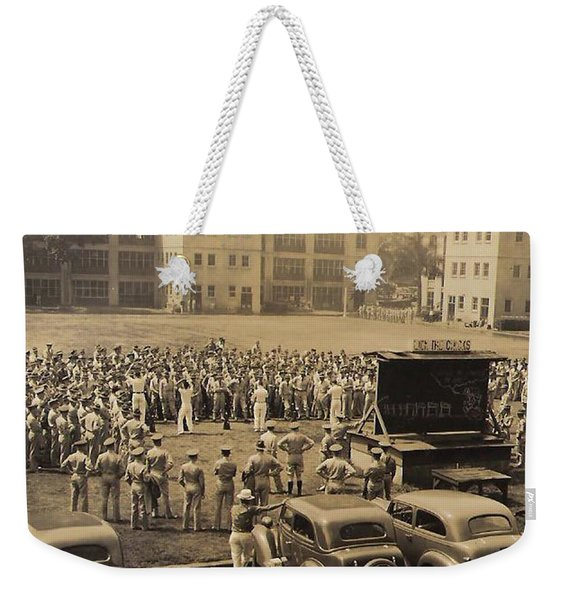 Lick The Chicks Weekender Tote Bag