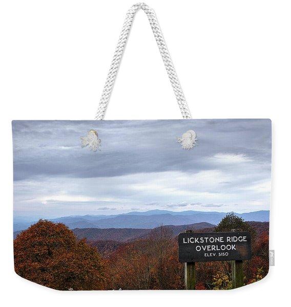 Lickstone Weekender Tote Bag
