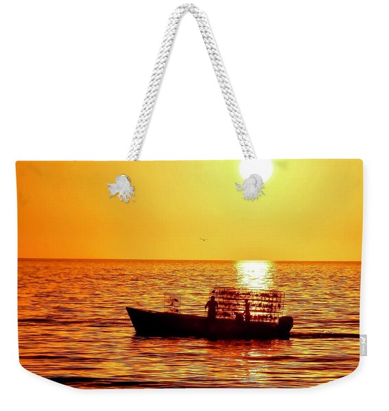 Life At Sea Weekender Tote Bag