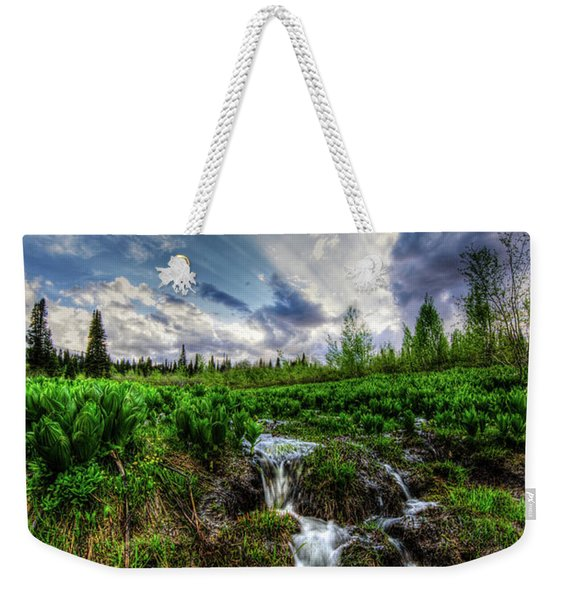 Life Giving Stream Weekender Tote Bag