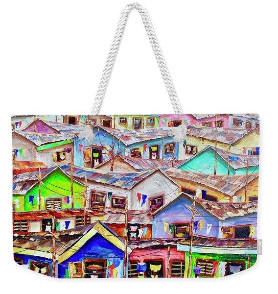 Life Goes On Weekender Tote Bag