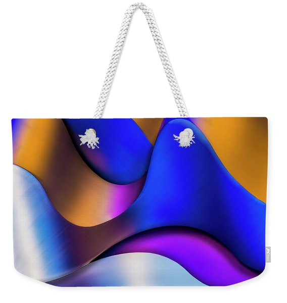 Life In Color Weekender Tote Bag