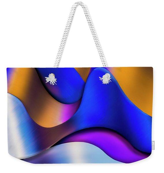 Life In Color Weekender Tote Bag