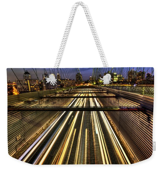 Life In The Fast Lane Weekender Tote Bag